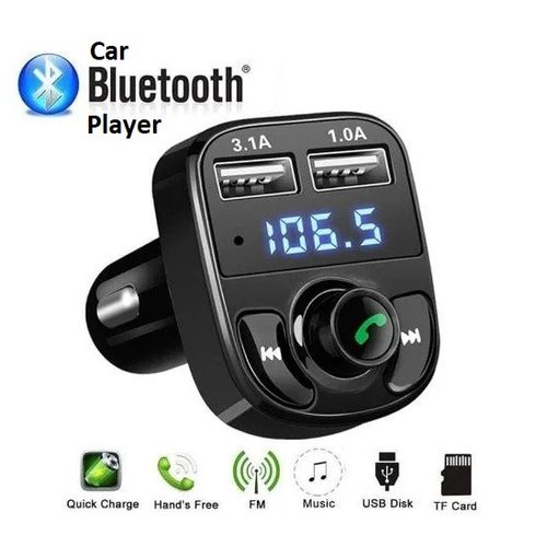 Bluetooth Multipurpose Car MP3 & Wireless Phonecall Kit