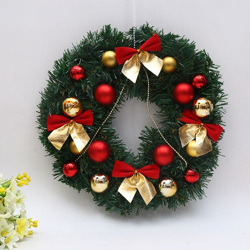 30cm Round Christmas Wreath Artificial Decorations