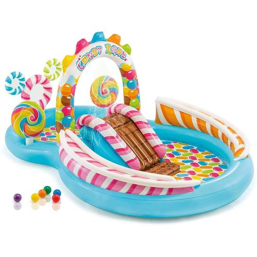 Home And School Candy Zone Inflatable Play Center