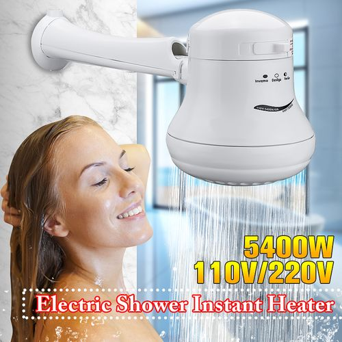 5400W Electric Shower Head 110V/220V Outdoor Tankless Instant Water Heater