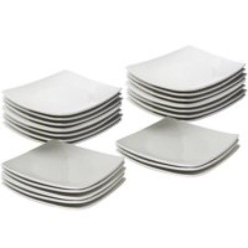 Unbreakable Ceramic Plates (12pieces)