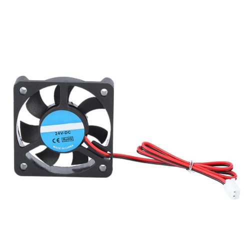 3D Printer Accessory Part DIY 5010 Cooling Fan 2Pin 24V 4000-6500 RPM 8-14CFM