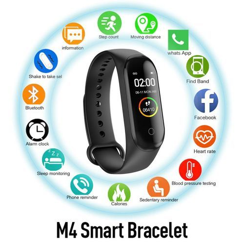 M4 Smart Bracelet Sports Pedometer Watch