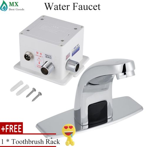 [buy 1 Get 1 Free Gift] Automatic Infrared Sensor Faucet Kitchen Bathroom Sink Water Tap With Control Box