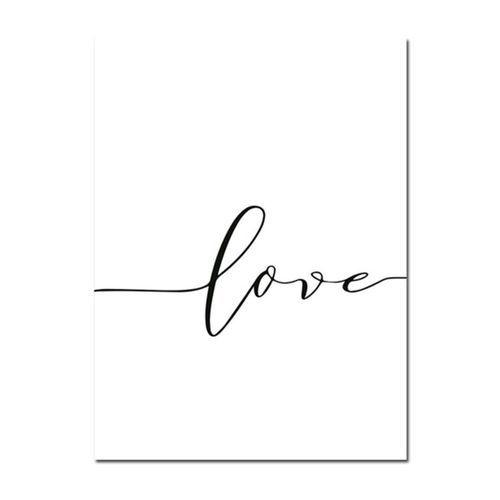 Holding Hand Black And White Picture Canvas Prints Painting Love Wall Home Decor