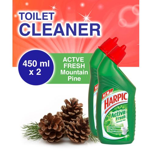 Toilet Cleaner: Mountain Pine - 725ml - Pack Of 2