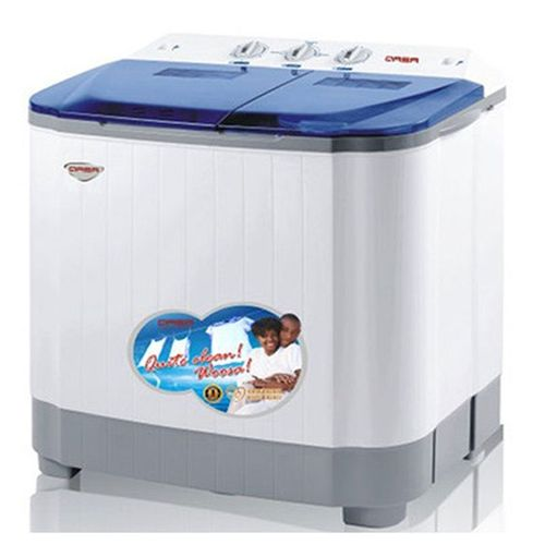 8.8kg Double Tub Semi-Automatic Washing Machine (5kg Wash, 3.8kg Spin)