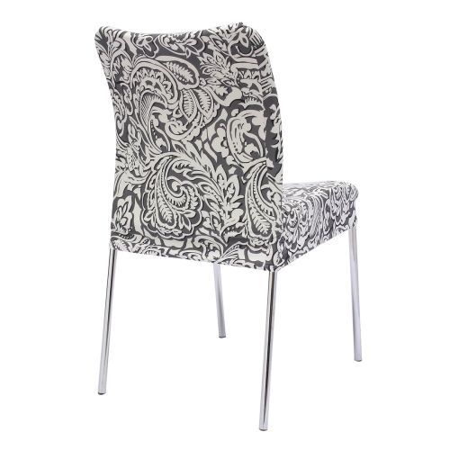4 Style Stretch Soft Stool Seat Chair Cover Removable Room Hotel Protector Decor Style 3