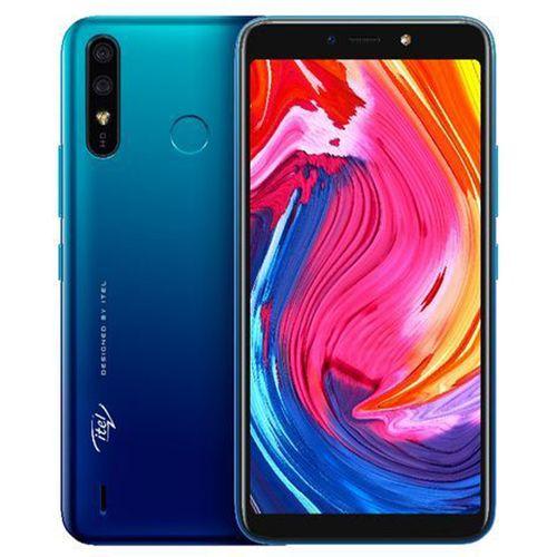 """A56 Pro(W6004P)- 5.99"""" IPS - Android 9 Pie- 32GB ROM + 2GB RAM- 8MP+5MP -4000mAh, Fingerprint - Gradation Blue"""