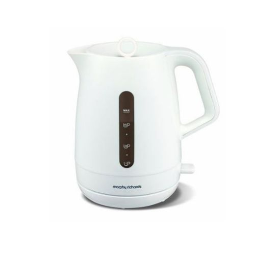 1.7 Litres Chroma Jug Kettle - White