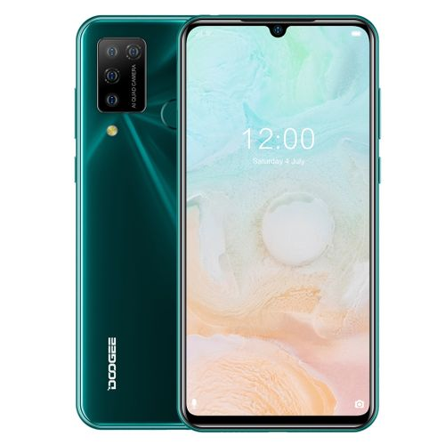 N20 Pro, 6GB+128GB 4400mAh Battery, 6.3 Inch Waterdrop Notch Screen Android 10.0 Smartphone - Green