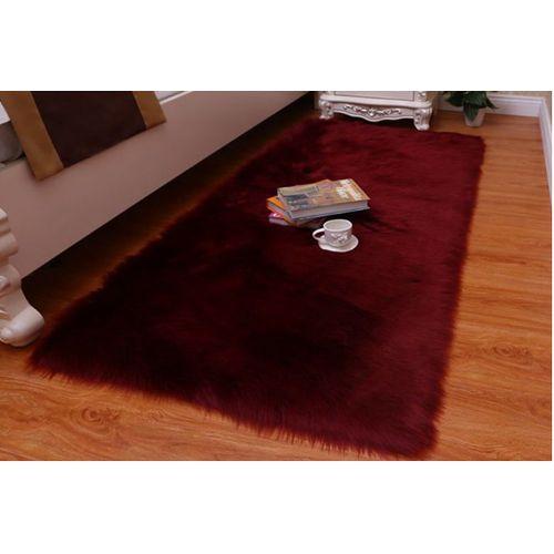 Wool Leather Sofa Carpet Mat