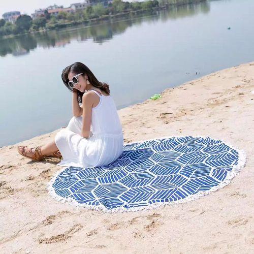 Fudaolom ShopBeach Mandala Towel Yoga Mat Tapestry