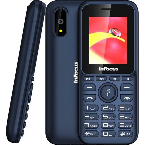 Vibe 1 Dual SIM FM Radio, Torch Light, Camera Phone - Blue