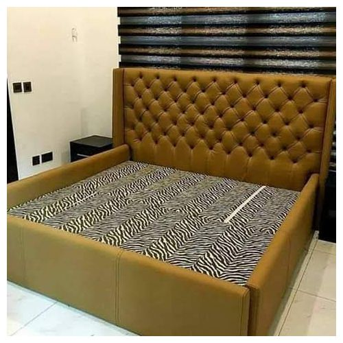 Monical 6by6 Bed With Two Side Drawer-Free Lagos Delivery