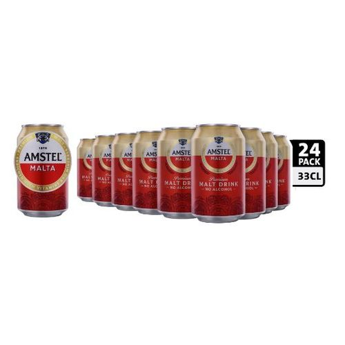 Malt Drink (Non Alcoholic) - 33cl Can X 24