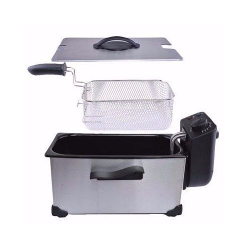 Stainless Deep Fryer - 3.5 Litres
