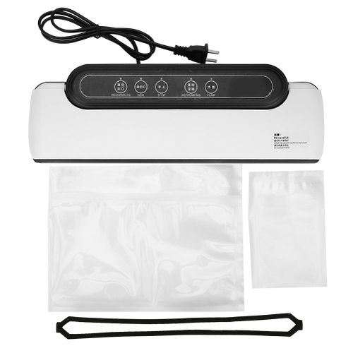 Food Vacuum Sealer Portable Household Kitchen Automatic Packer Sealing Machine US Plug 100-240V( )