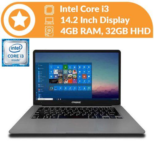 """14.1"""" HD Win10 1.44 GHz Intel Processor 4GB 32GB, Space Grey"""