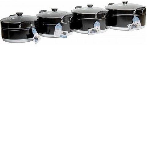 4 Set Large Pots