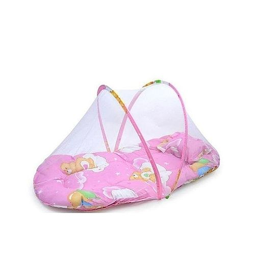 Foldable Baby Bed With Pillow