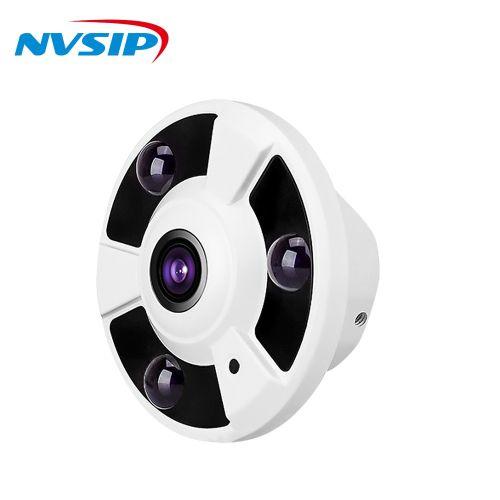 1080P 360 Degree Wide Angle 1.7MM Fisheye Panoramic Camera CCTV Camera Surveillance Camera Security Dome Camera(960P)(3.6mm)