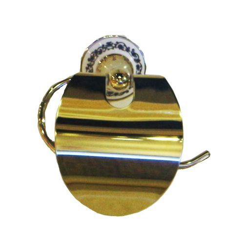 Gold Toilet Paper Holder(Lagos Delivery Only, Charges Apply)