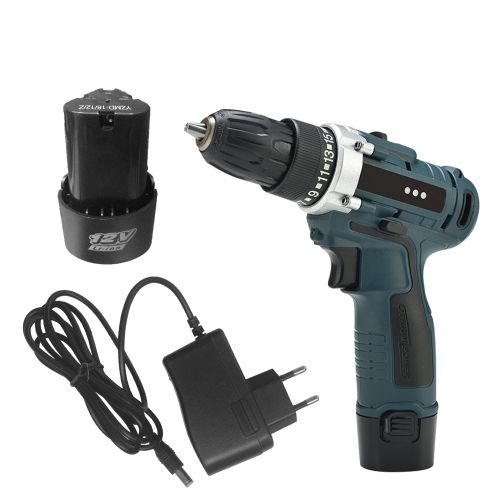 Dual Speed Cordless Electric Drill Rechargeable Electric