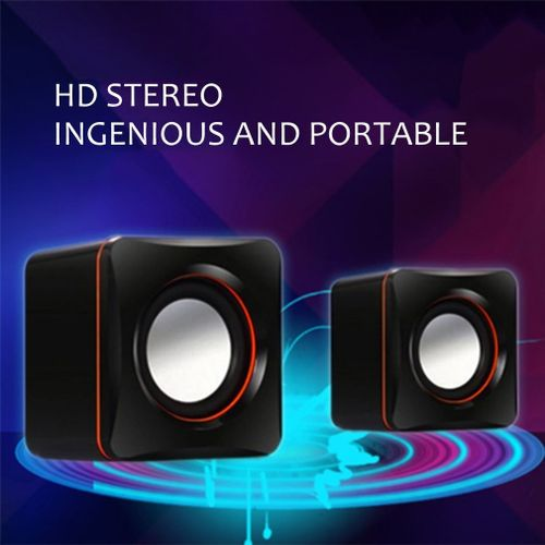 Wired USB Audio Music Player Speaker MP3 Laptop PC