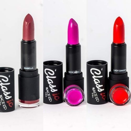 Matte Lipstick 3pcs- Isabella, Nicki Minaj And Lady Danger