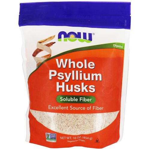 Whole Psyllium Husks (Solution Fiber) 16oz (454g)
