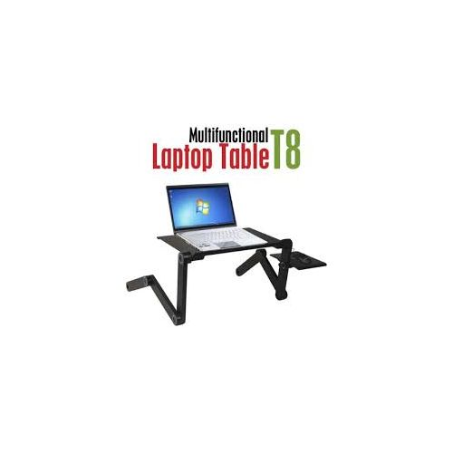 Multi-Function Universal T8 Laptop Table With Cooling Fan