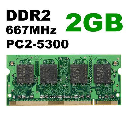 2GB (1x2GB) DDR2-800Mhz PC2-6400 Notebook Laptop (SODIMM) Memory RAM 200 Pin New