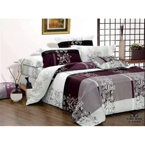 Royal Beddings - Bedsheet, PillowCases Or Duvet Set - Purple