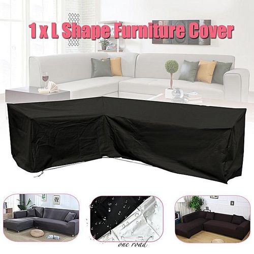 Dust-Proof Cover F Garden Furniture Small L-Shaped Sofa Cover Protective Cover