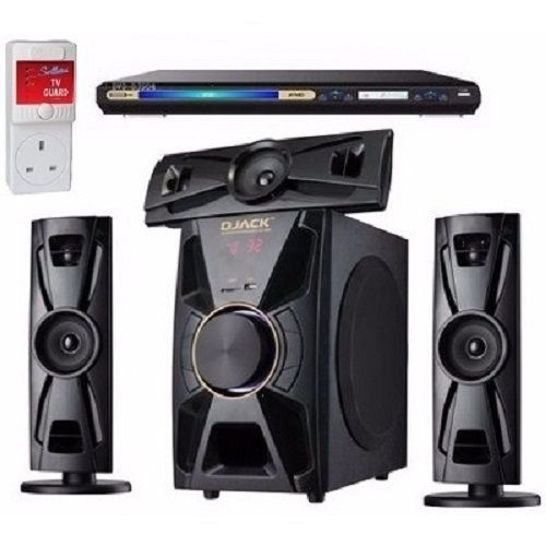 3.1CH Bluetooth Home Theatre System 403 + Powerful DVD Player + Power Surge