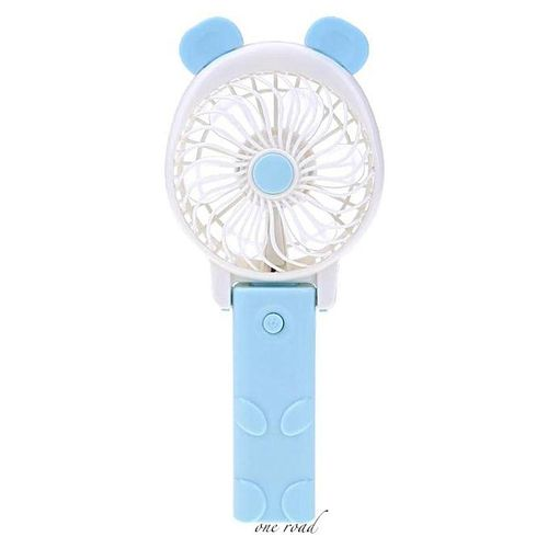 Hand Fans Battery Operated Rechargeable Handheld Mini Fan Electric Personal Fans Hand Bar Desktop Fan Cooler With Strap
