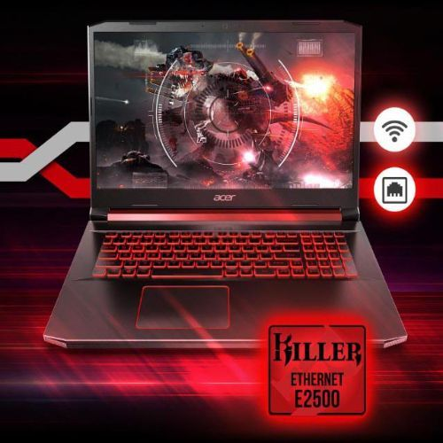 Nitro 5 Gaming Intel Core I5-9300H 8GB RAM(Ugradable To 32GB)3GB NVIDIA GeForce 256GB SSD WINS 10