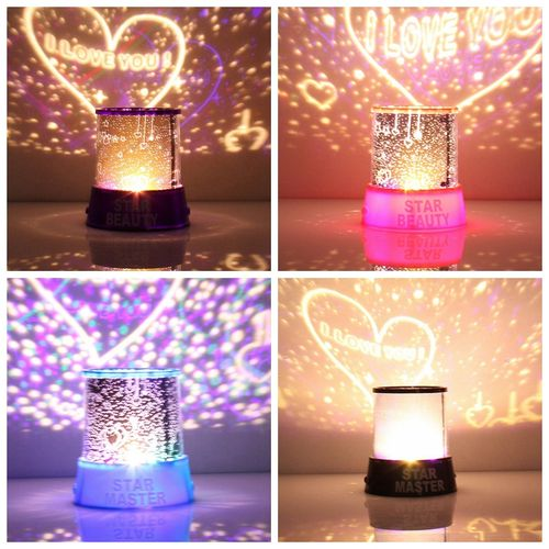 Romantic LED Starry Night Projector Light Sky Lamp
