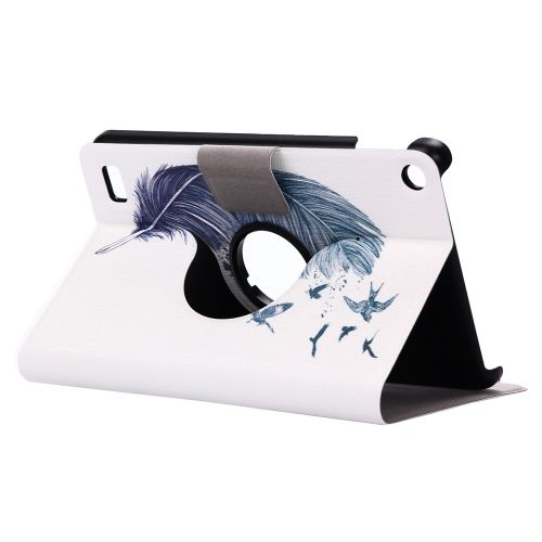 Folding Stand Painted Leather Case Cover For Amazon Kindle Fire HD 7 2015 D