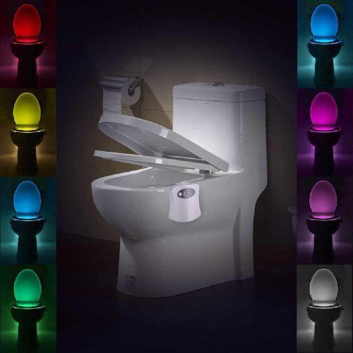 Multicolor Toilet Bowl Light X2