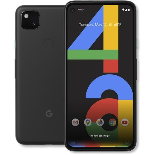 Pixel 4a - 5.81 Inches - 6GB Ram - 128GB Rom - 4G Lte - Black