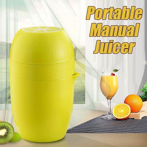 Portable Manual Juicer Citrus Fruit Squeezer Cup Hand Press