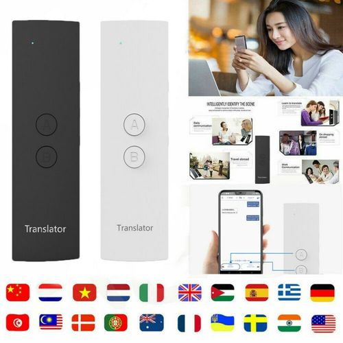 T6 Easy Trans Smart Language Translator Instant Voice Speech BT 28 Languages+APP QLANG