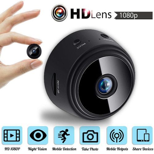 Mini Security Camera WiFi, With Inbuilt Battery Night Vision Surveillance Camera