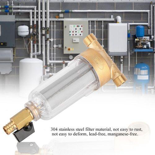 Brass Filter Backwash Filter Faucet Water Purification Filter