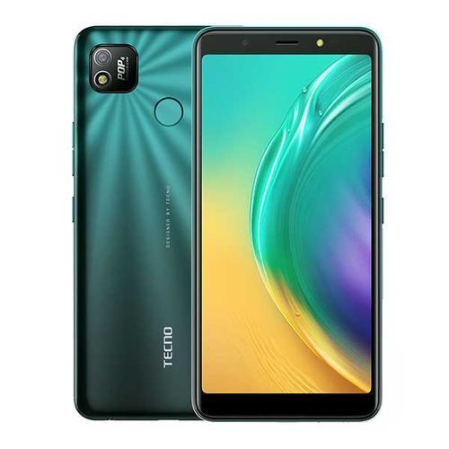 "POP4 , 6"" Screen 32GB ROM + 2GB RAM, 8MP/5MP Camera, Android Q (Go Edition), 5000mah - Ice Lake Green"