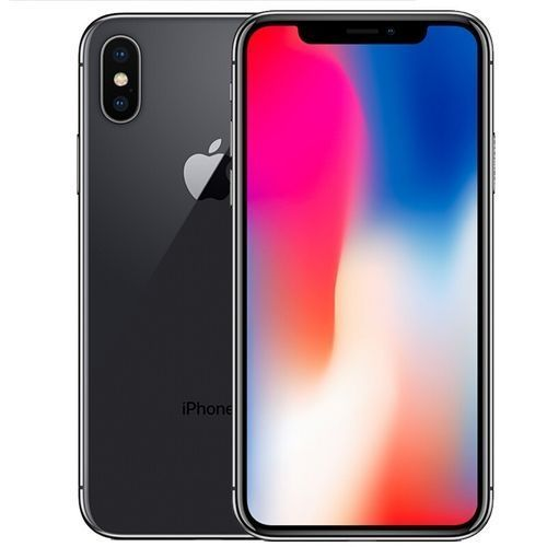 IPhone X 5.8-Inches Super AMOLED (3GB, 64GB ROM) IOS 11.1.1, (12MP + 12MP) + 7MP 4G LTE Smartphone - Space Grey