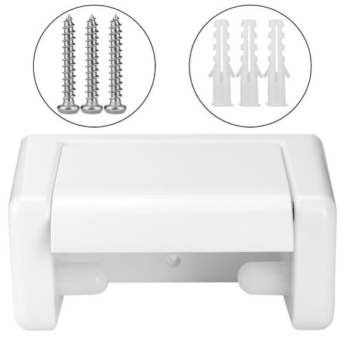 Furnoor Toilet Paper Roll Holder For Bathroom On The Wall Hotel Office Durable