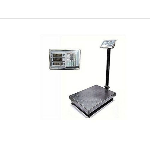 T C S Electronic Digital Platform Scale 300kg Chakared Plate